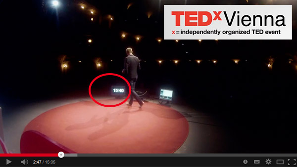 As used on TEDxVienna and many other TEDx converences and events