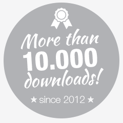 downloads badge