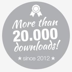 downloads badge
