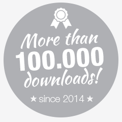 more than 100.000 downloads since 2014