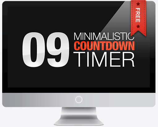 Desktop countdown timer.