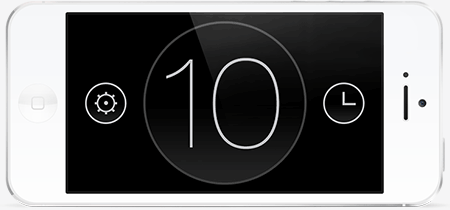 countdown timer nano, setting the time