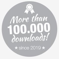 100.000 timer downloads since 2019