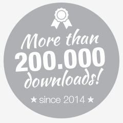 more than 200.000 downloads since 2014