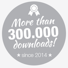 more than 300000 downloads since 2014