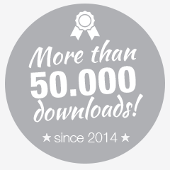 more than 50.000 downloads since 2014