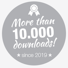 more than 10000 downloads since 2019
